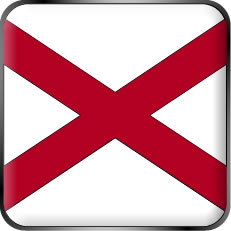 Alabama State Flag Icon