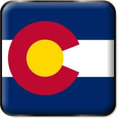 Colorado State Flag icon