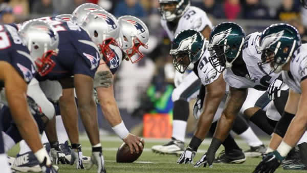 Eagles VS Patriots