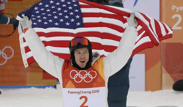 Shaun White Wins USA's 100th Gold Medal
