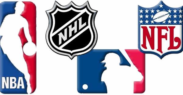 USA professional sports leagues