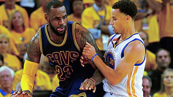 Lebron and Curry NBA players