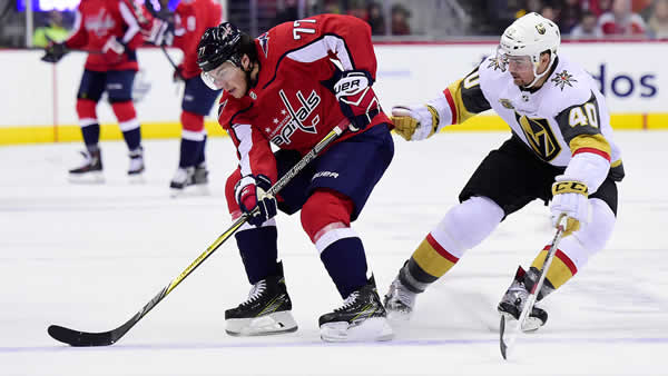 Washington Capitals v.s. Las Vegas Golden Knights