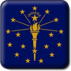 Indiana State Flag Icon