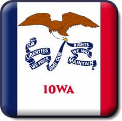 Iowa State Flag Icon