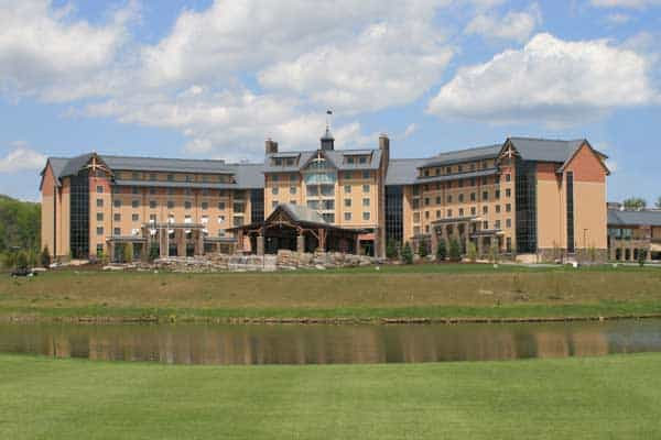 A view of the Mount Airy Casino in Pennsylvania