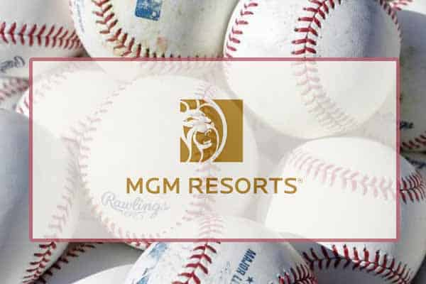 MGM logo with baseballs
