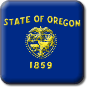 Oregon State Flag Icon