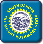South Dakota Flag Icon