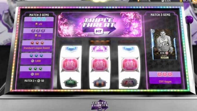 NBA 2K20 slot machines