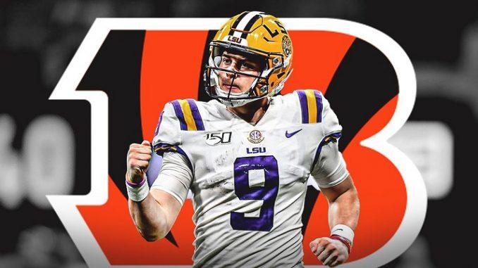 Cincinnati Bengals Joe Burrow 1st pick NFL Draft odds and props bets sportsbooks Las Vegas