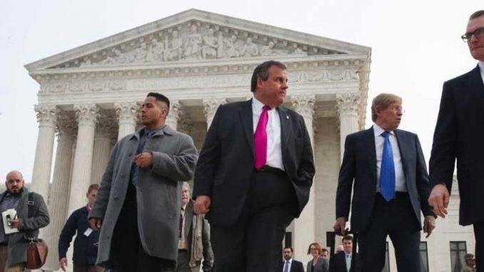 Chris Christie PASPA repeal