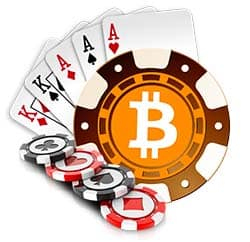 Bitcoin gambling chips