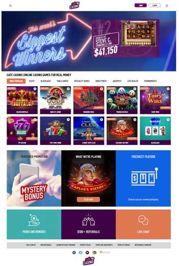 Cafe Casino screen shot