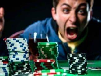 angry poker player