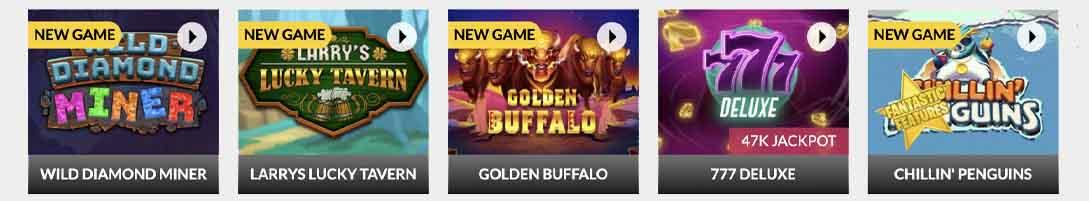SlotsLV Casino Games