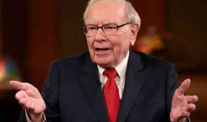 warren buffett shrugging